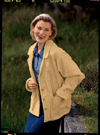 Picture of Recalled Women's Chenille Lounge Jacket