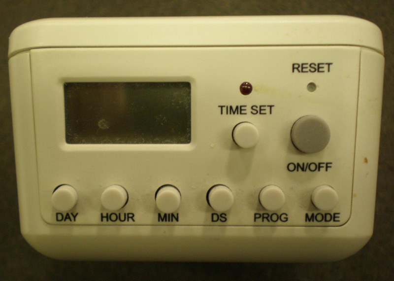 Picture of Recalled Heavy Duty Digital Timer