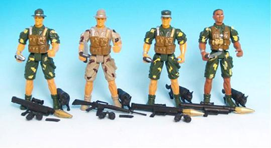 Picture of Recalled Toy Army Figures