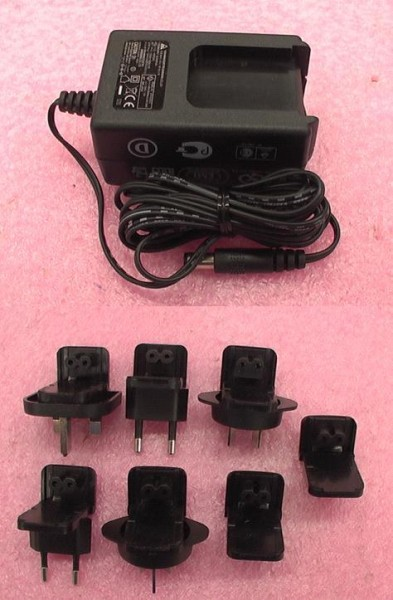 Picture of Recalled Power Adapters with IBM RDX Back Up Hard Disk Drive