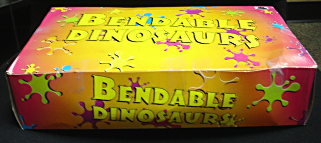 Picture of Recalled Bendable Dinosaur Toys