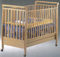 Click For Larger Image of Recalled Amelia Model Number 185 Crib