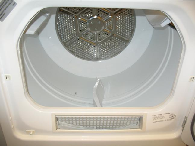 Picture of Recalled Gas Dryer Door