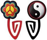 Picture of Recalled Peace Flower & Yin Yang Paper Clip