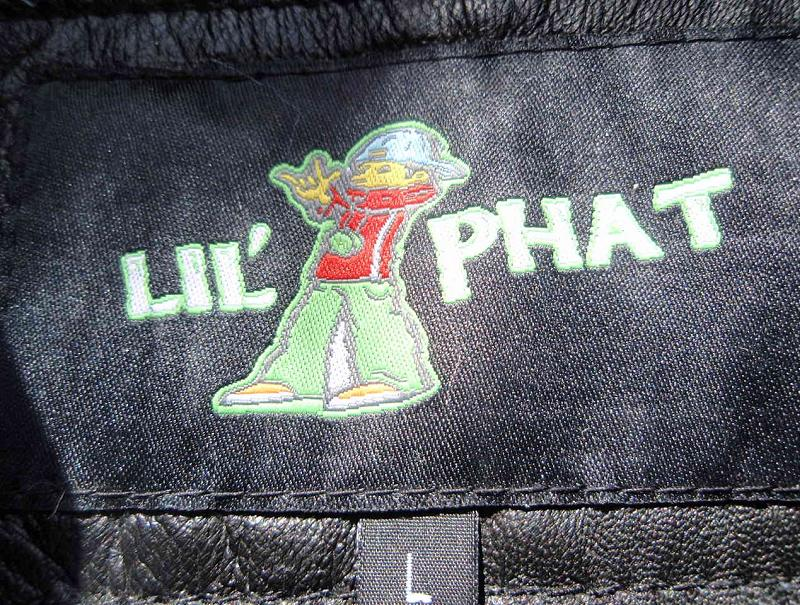 "Picture of recalled ""Lil' Phat"" jacket label"