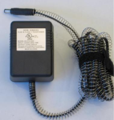 Picture of the pet recalled power adapter