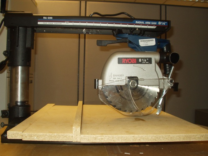 Picture of Recalled Radial Arm Saw