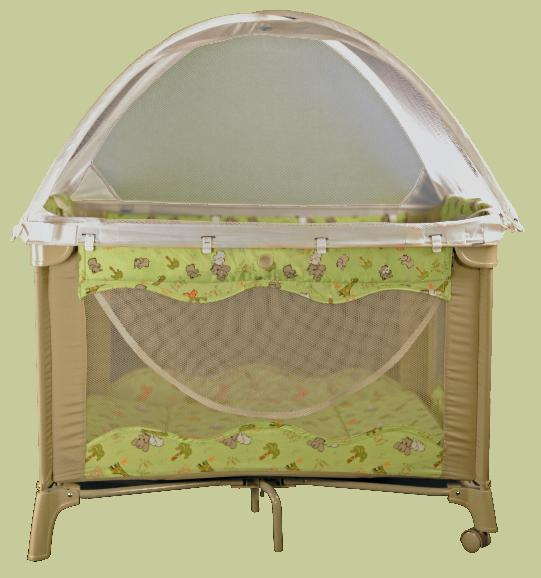 Picture of Recalled Portable Playard & Childu0027s Death Prompts Recall to Repair Portable Playard Tent by ...