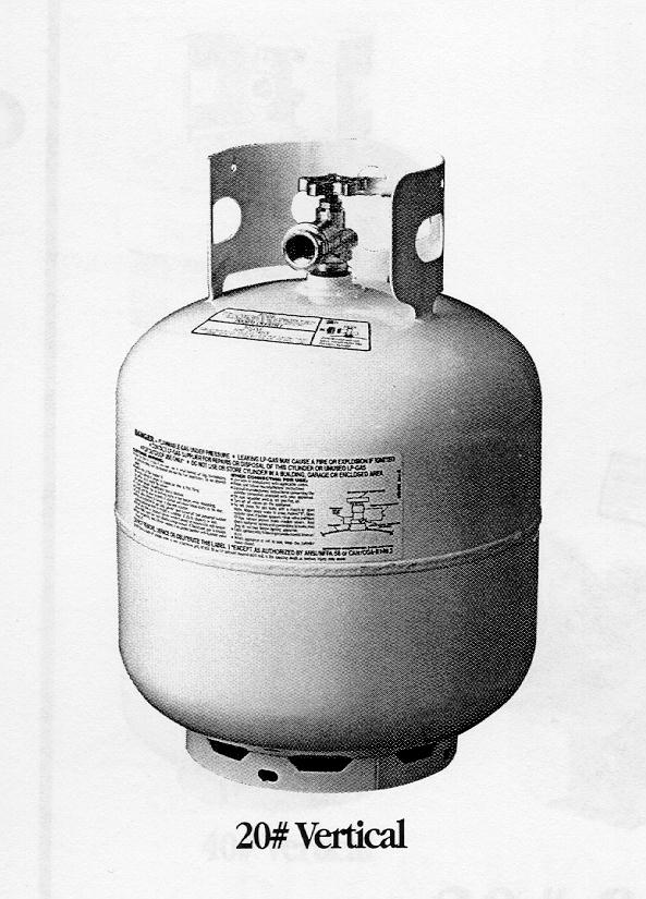 Picture of Recalled Propane Cylinder