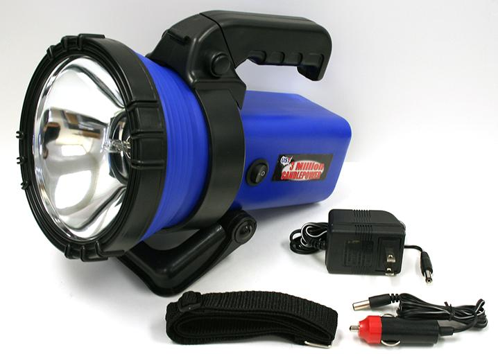 Picture of Recalled Spotlight and Accessories