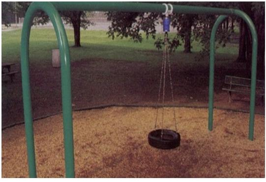 Picture of Recalled Playground Tire Swing