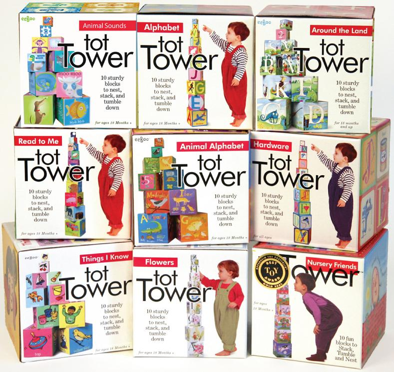 Picture of Recalled Tot Tower Toy Blocks
