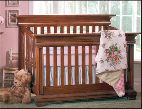 Picture of Recalled Majestic Flat Top Crib - Model # 9000