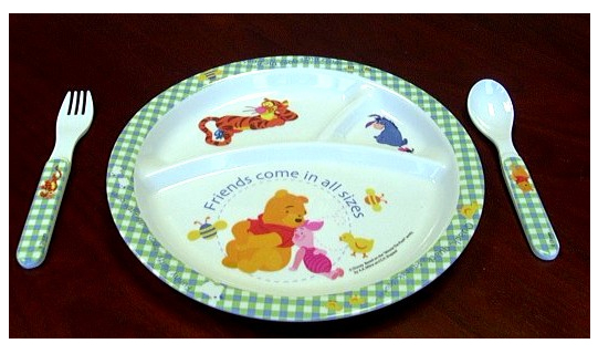 Picture of Plate Set  sc 1 st  Consumer Product Safety Commission & CPSC Giftco Announce Recall of Fork in Winnie the Pooh Baby Plate ...