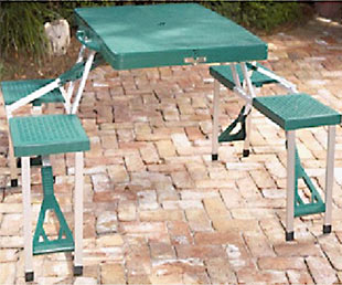 Picture of Recalled Folding Picnic Tables