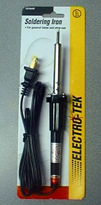 Electro-Tek Soldering Iron in Package