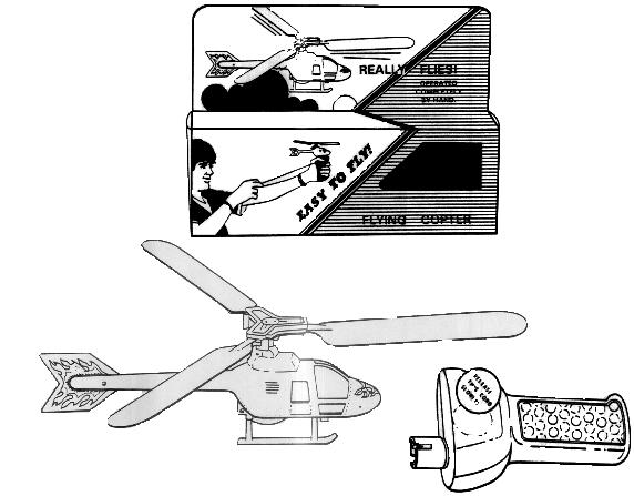 Picture of Recalled Toy Helicopter