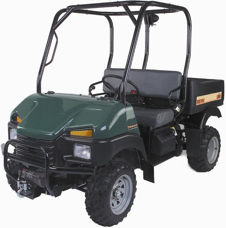 Bush Hog Off-Road Utility Vehicles Recalled Due to Loss of Speed