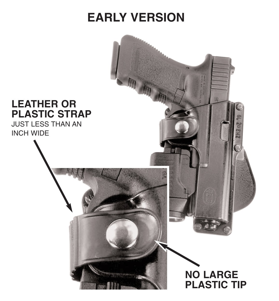 Picture of Gun Holster: Early Version