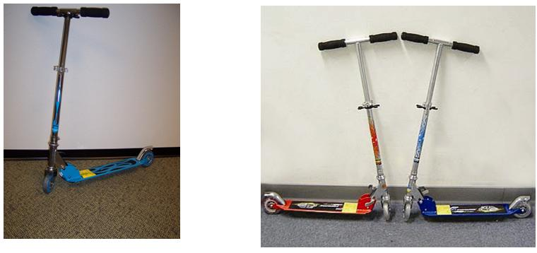 Picture of Recalled Firestreet Scooters