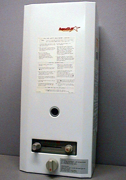 AquaStar Model AQ38B NG Water Heater Recalll