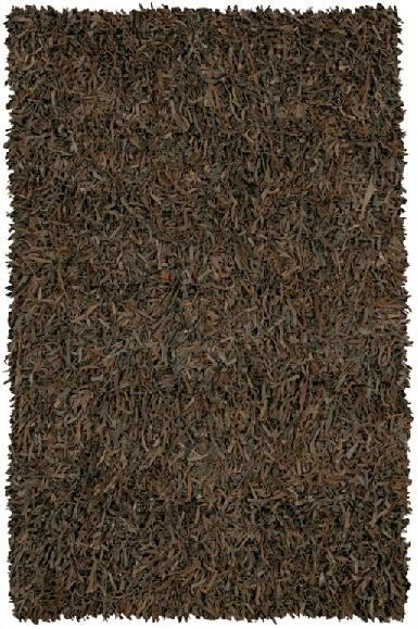 Picture of Recalled Leather Shag Rug