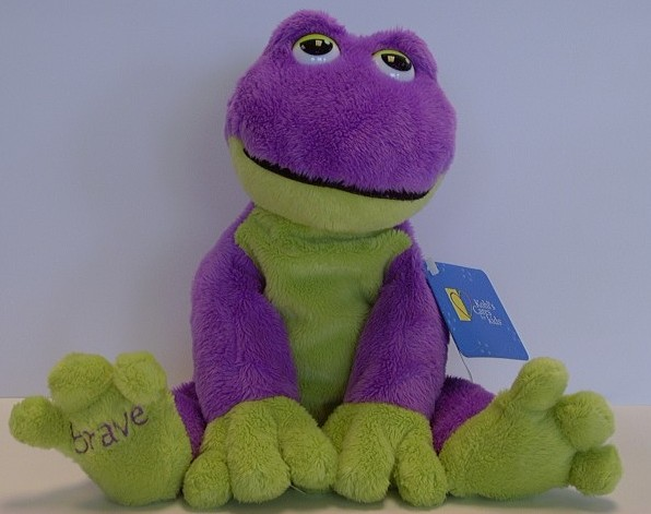 Picture of Recalled Stuffed Frog