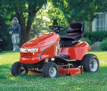 Picture Of Recalled Regent Riding Lawn Mower
