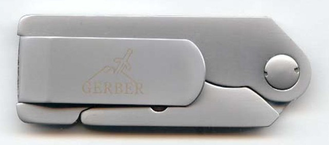 Picture of Recalled Gerber EAB (Exchange-A-Blade) Pocket Knife