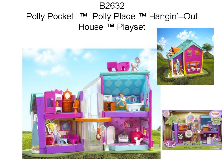 Picture of Recalled Polly Pocket! Polly Place Hangin' Out House