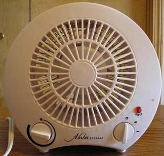 Picture of Recalled Aloha Breeze Portable Electric Heater