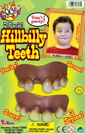 Picture of Recalled Hillbilly Teeth
