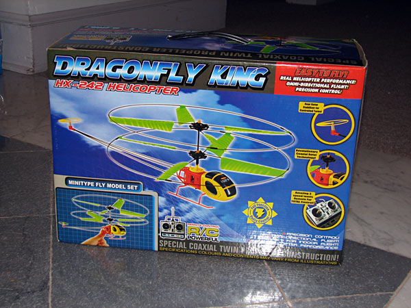 Picture of Recalled Helicopter Toy Packaging