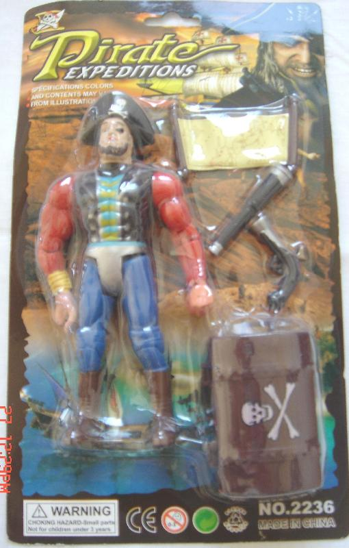 Picture of Recalled Pirate Expeditions with Treasure playset
