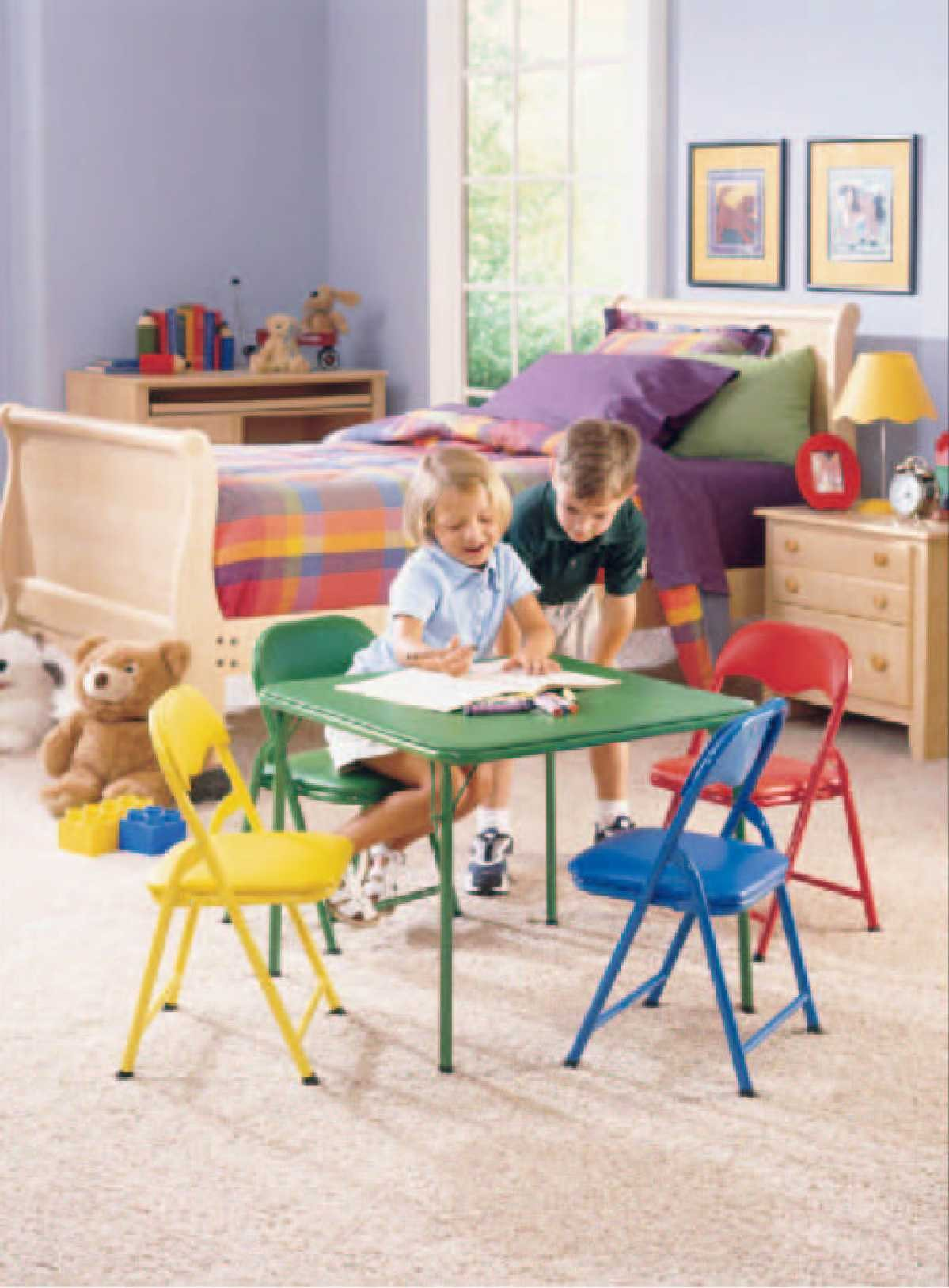Picture of Recalled Five-Piece Folding Furniture Set