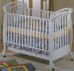 Click For Larger Image of Recalled Rosemary Model Number 925 Crib
