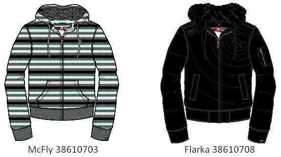 Picture of Recalled 38610703 McFly, 38610708 Flarka Children's Hooded Sweatshirts