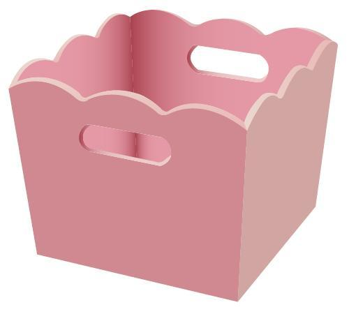 Picture of Recalled Children's Pink Storage Bin