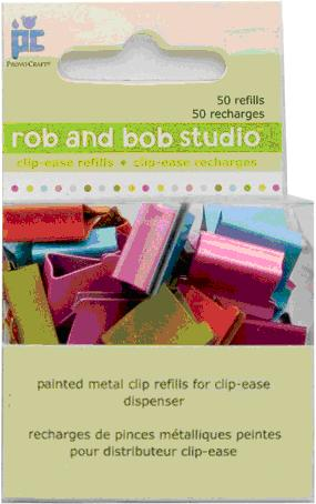 Picture of Recalled Rob and Bob Studio Clip-Ease model number 28-1086 metal clips