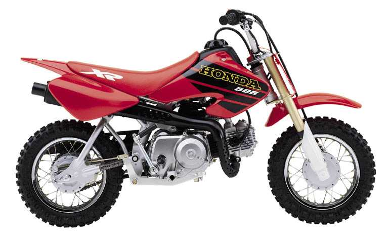 Picture of Honda off-road motorcycle