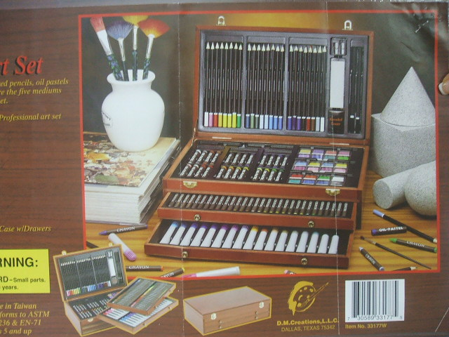 Picture of Recalled Deluxe Wood Art Sets