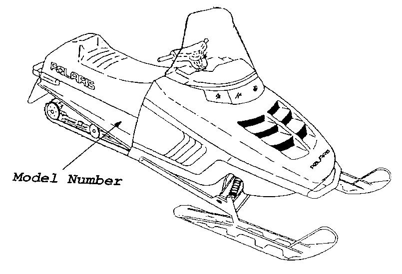 Where to Locate Snowmobile Model Number