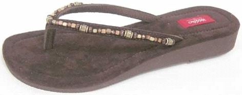 Picture of Recalled Suede Sandal