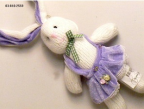 Picture of Recalled Stuffed Yarn Bunny