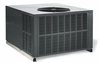 Picture of Recalled Package Gas-Electric Heating and Cooling Units