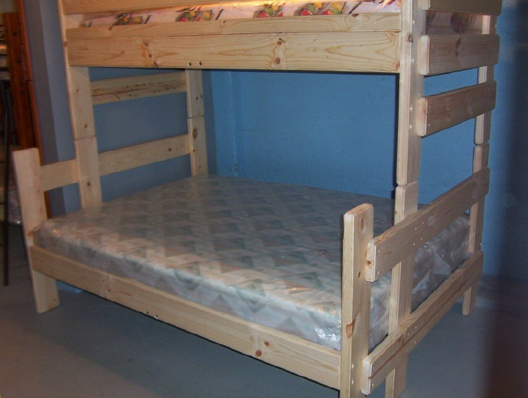 Picture of Recalled Wooden bunk bed