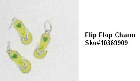 Picture of Recalled Flip Flop Charm SKU# 10369909