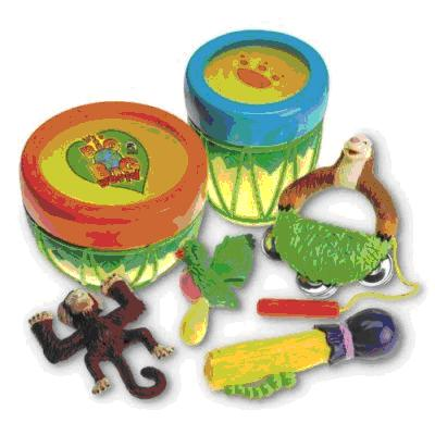 Picture of Recalled Big Big World 6-in-1 Bongo Band toy