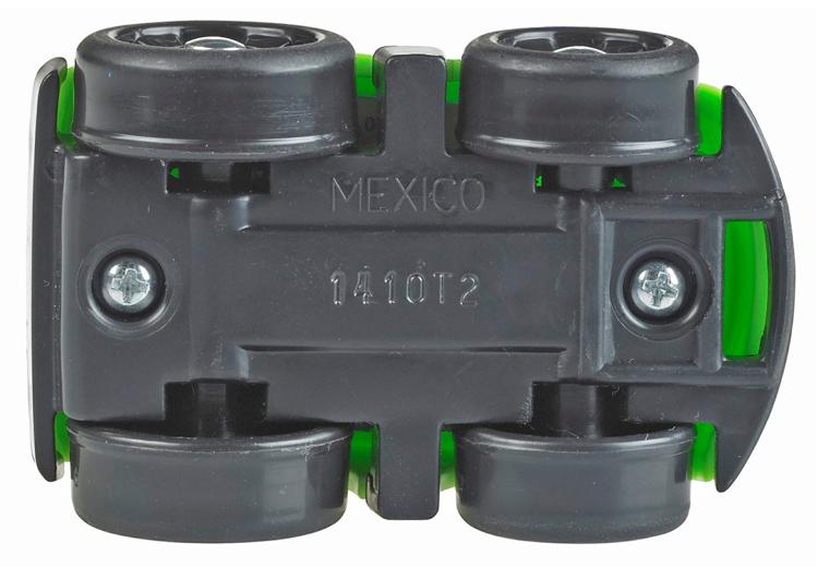"Recalled Wheelie bottom, stamped ""MEXICO"""