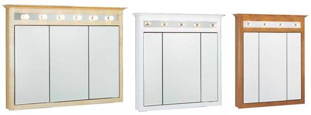 Bathroom Medicine Cabinets Sold At Lowes And The Home Depot Retail - Bathroom vanity and medicine cabinet